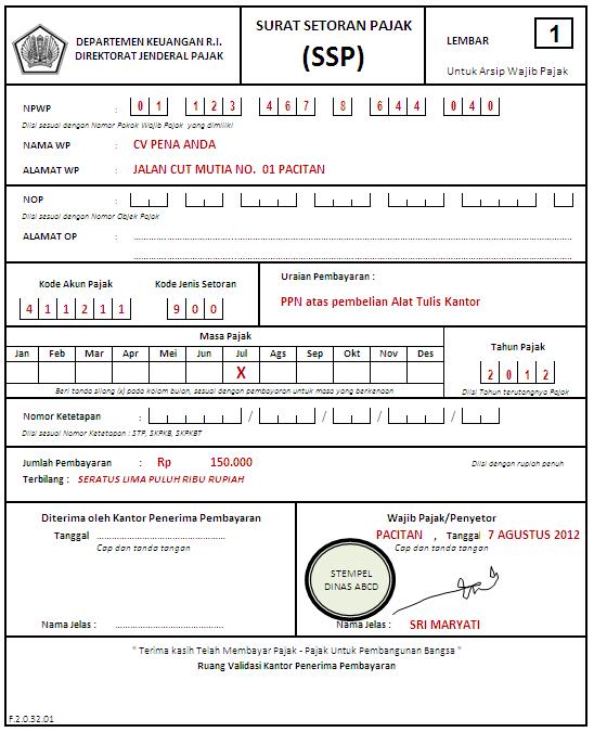 Cara Perhitungan Dan Pembayaran Ppn Dan Pph Pasal 22 Operator