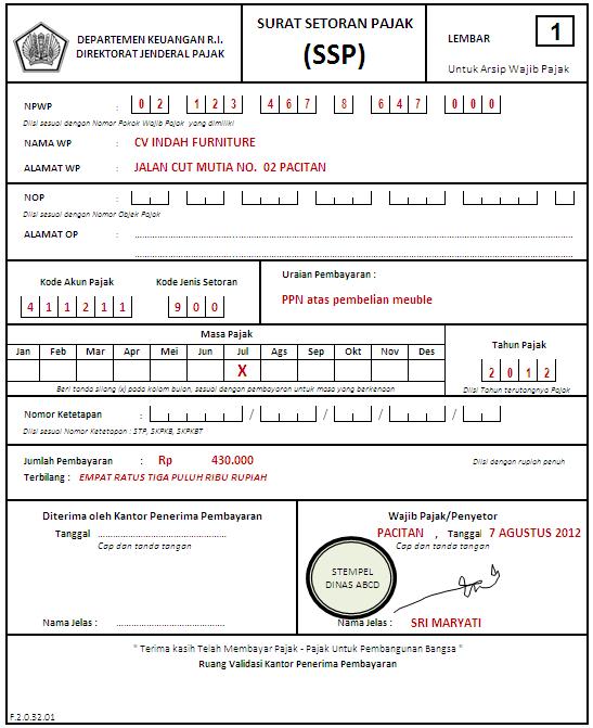 Tata Cara Pemungutan Penyetoran Dan Pelaporan Pph Pasal 22
