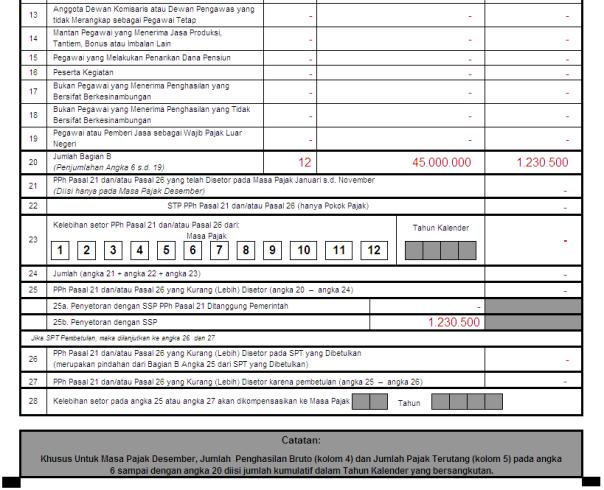 kewajiban selanjutnya adalah melaporkan SPT Masa PPh Pasal 21
